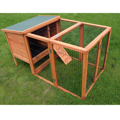 Rabbit Hutch - Outback Comfort with Pen - Large