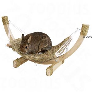 Siesta Grass Hammock for rabbits