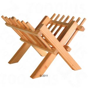 Rabbit Hutch Hay Rack wood