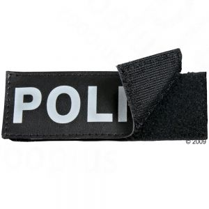 Trixie Rabbit Harness Velcro Sticker Police