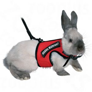 Trixie Rabbit Harness Red