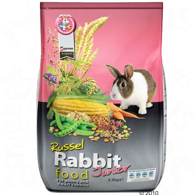 Rabbit Food Russel Junior for young rabbits