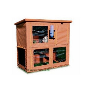 Outdoor Rabbit Hutch Cover Trixie Natura Single