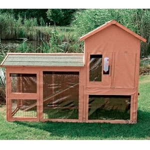 Outdoor Rabbit Hutch Cover Trixie Natura Delux