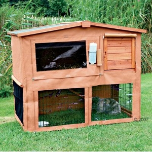 Outdoor Rabbit Hutch Cover Trxie Natura Giant