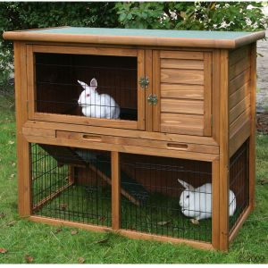Outdoor Rabbit Hutches Kerbl La Vita