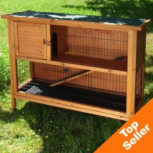 Outdoor Rabbit Hutch Outback 2 Storey Extra