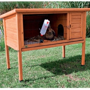 Outdoor Rabbit Hutch Trixie Natura Single garden hutch