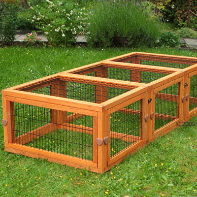 Large Rabbit Hutch Pen Outback Varible