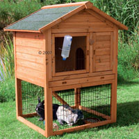 Large Rabbit Hutch Outback Supra 2 Story