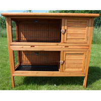 Large Rabbit Hutch Outback Supra 2 Storey